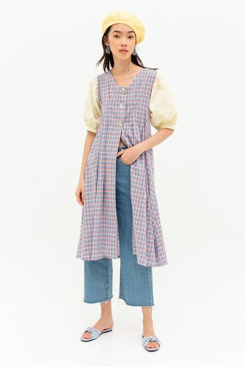 IZABELLA DRESS - PLAID