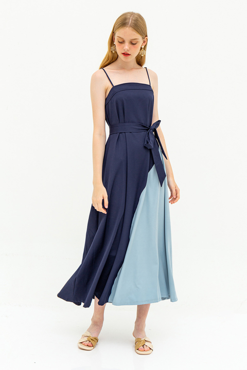 *RESTOCKED* ELLERDALE DRESS - BLUEBERRY [BY MODPARADE]