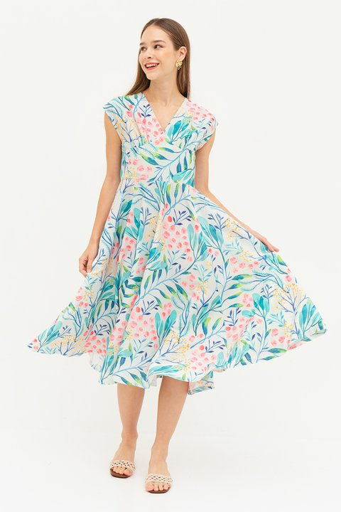 *RESTOCKED* MAGDA DRESS - ASAGO [BY MODPARADE]