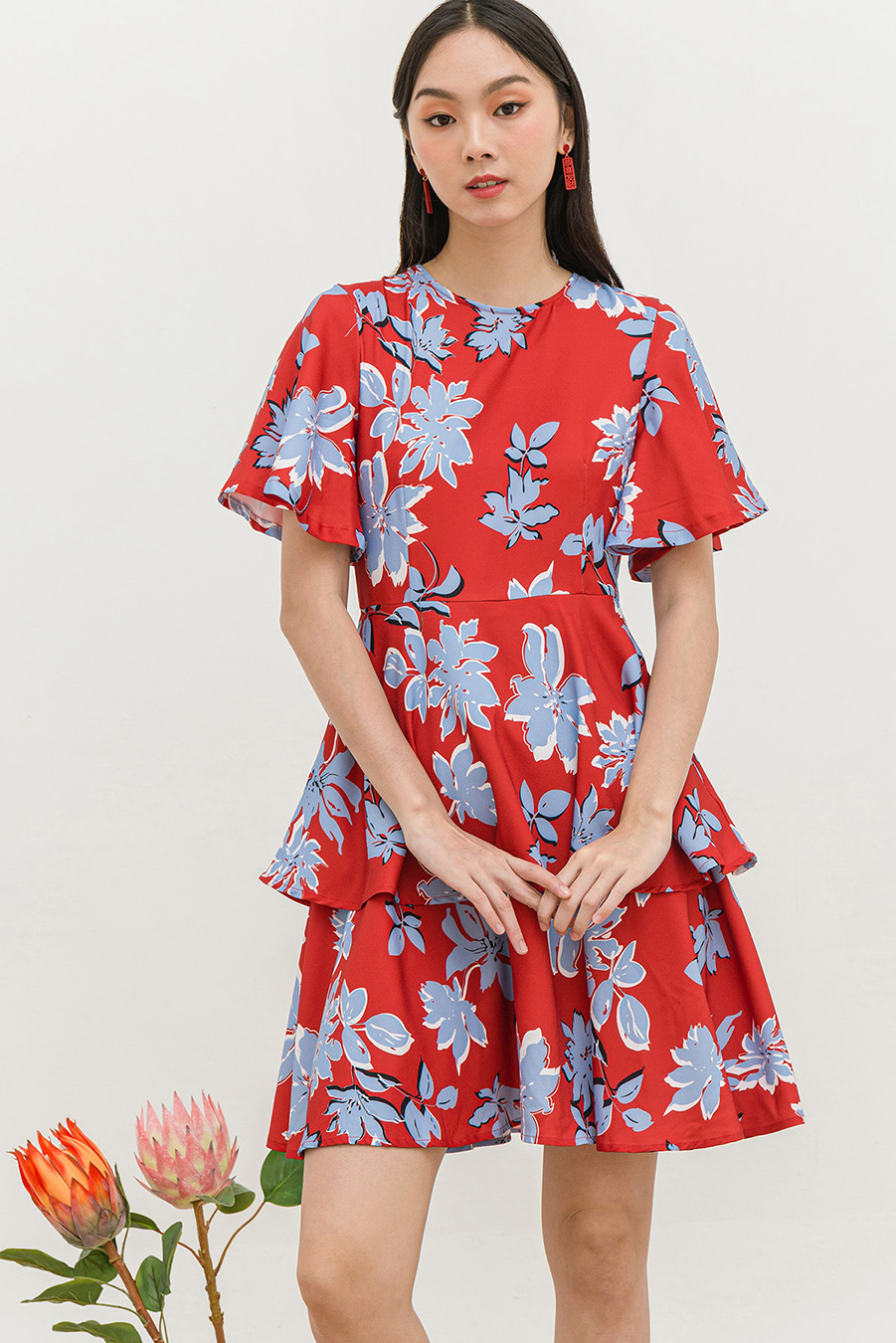 *SALE* AGATHE DRESS - ORNELLA [BY MODPARADE]