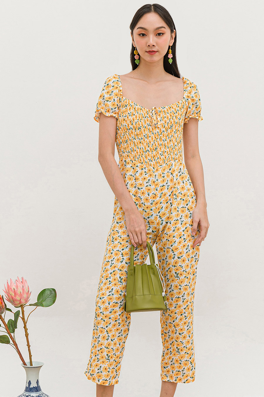 AKAKO JUMPSUIT - SUNFLOWER