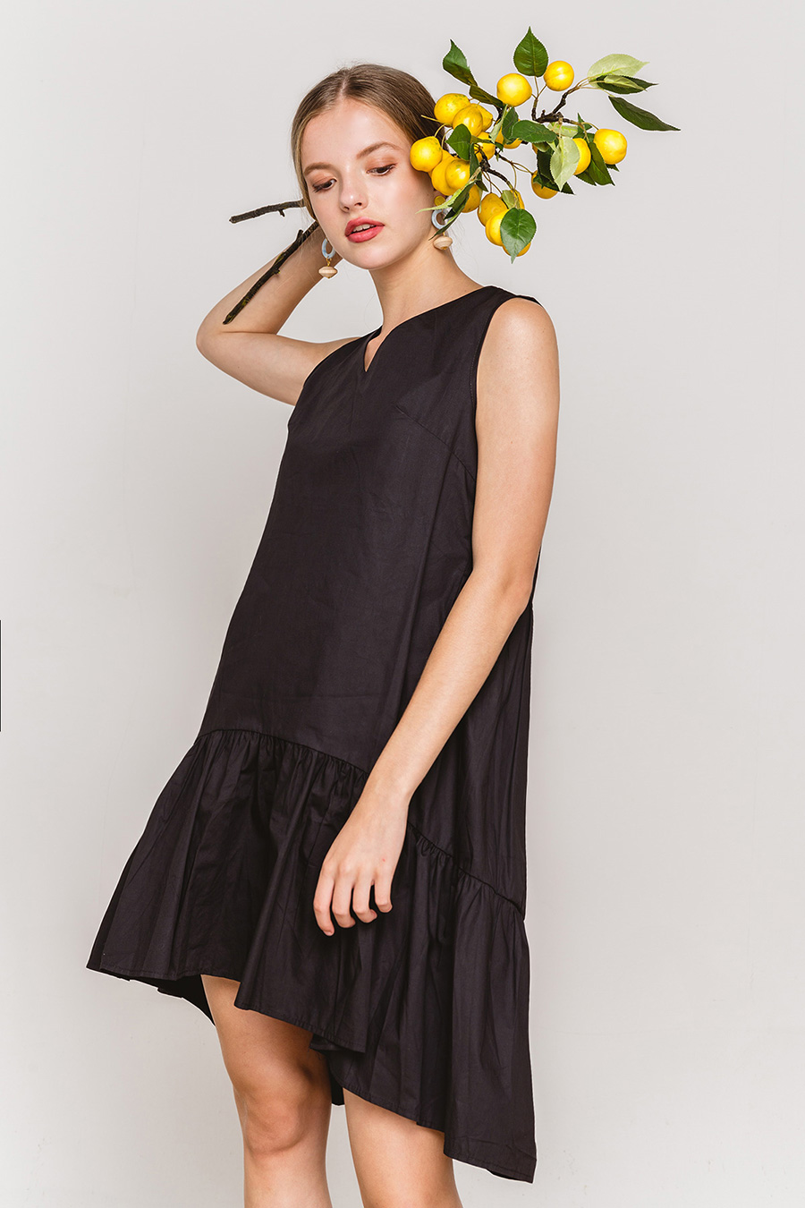 ALBERTINA DRESS - NOIR