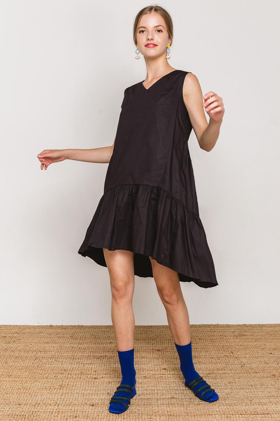 ALBERTINA DRESS - NOIR
