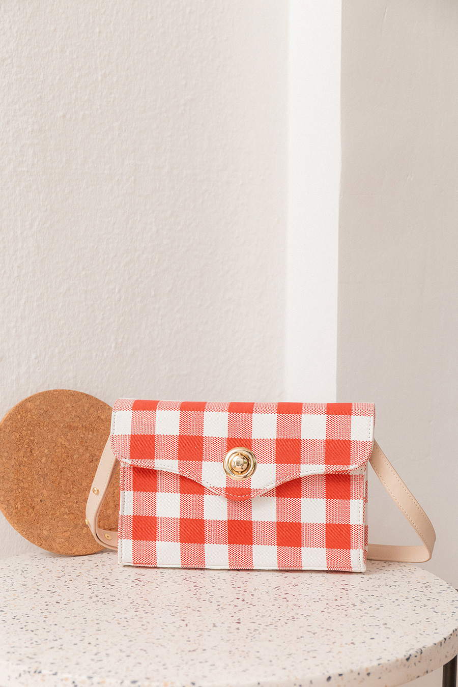 *RESTOCKED* ALICJA BAG - GINGHAM