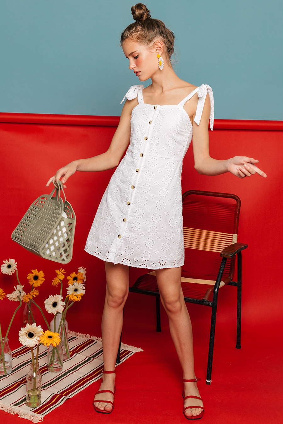 *SALE* ALTEA DRESS - IVORY