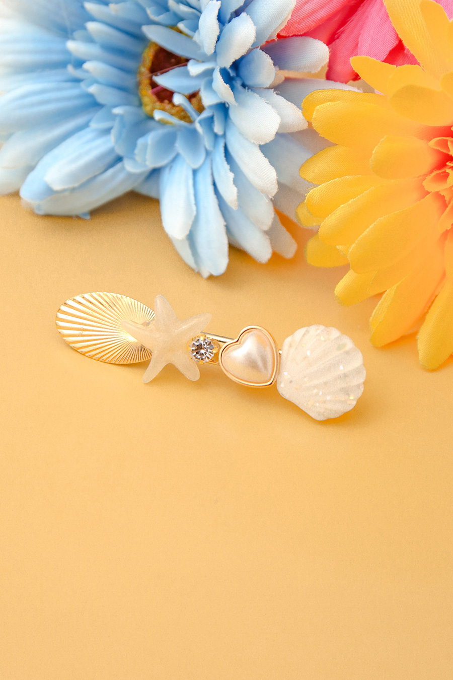 *BO* AMELIE HAIRCLIP - SEASHELL