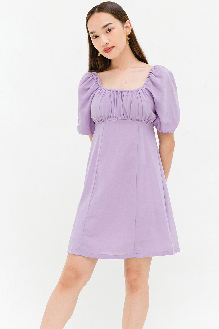 ANNABELLA DRESS - LAVENDER