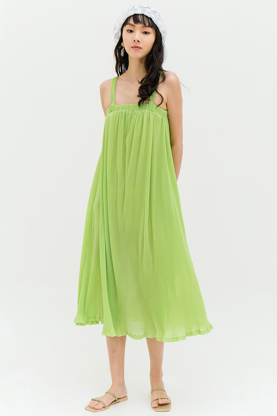 ANTONIA DRESS - CYPRESS [BY MODPARADE]