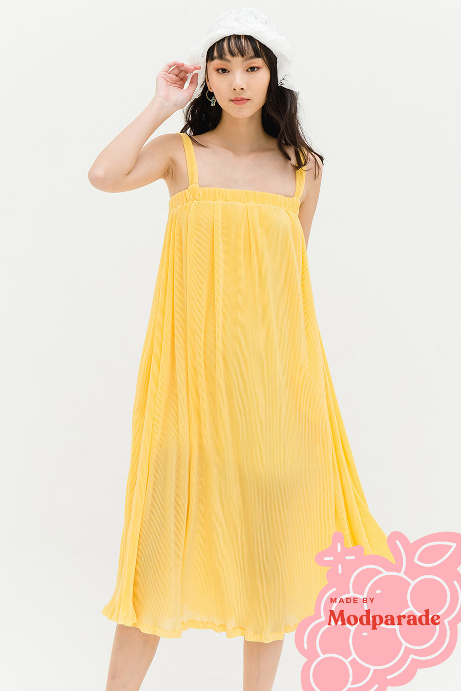 *SALE* ANTONIA DRESS - SUN GOLD [BY MODPARADE]