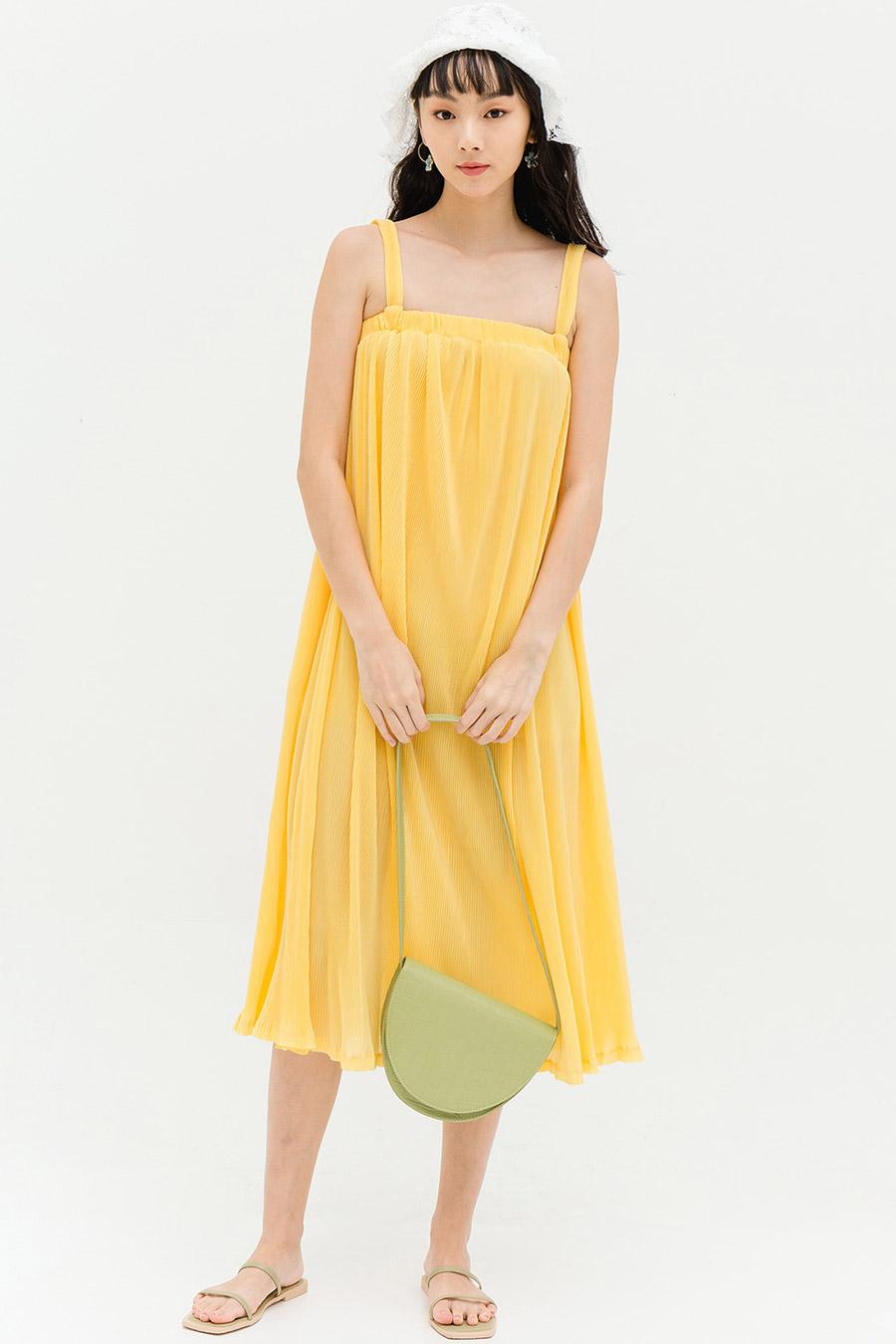 *PO* ANTONIA DRESS - SUN GOLD [BY MODPARADE]