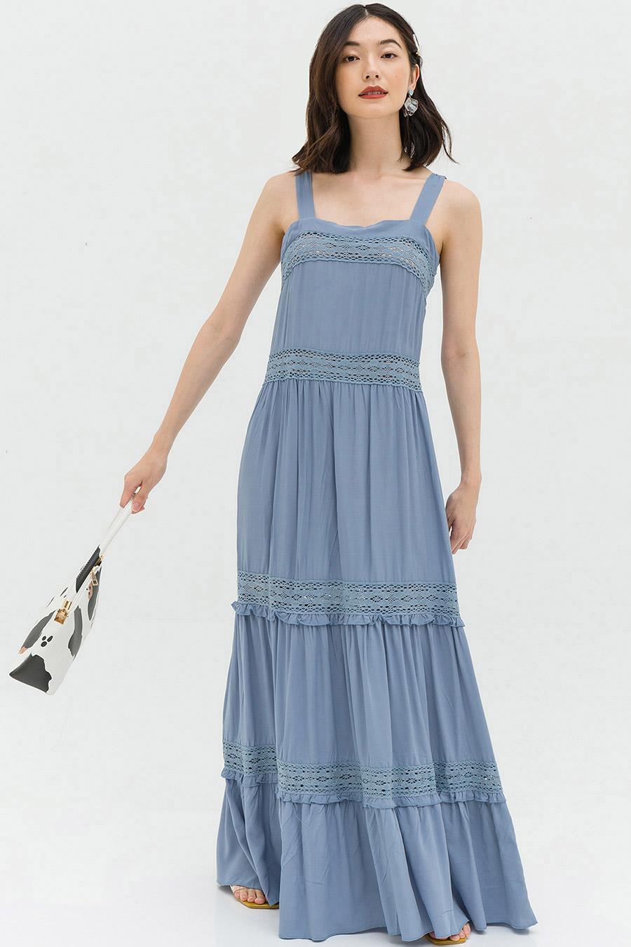 ARLETTE DRESS - CORNFLOWER