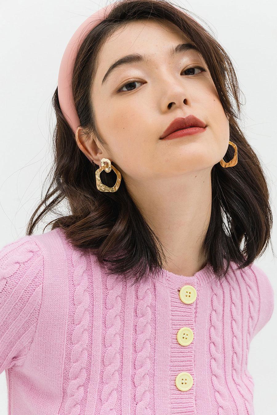 BARNIER EARRING - GOLD