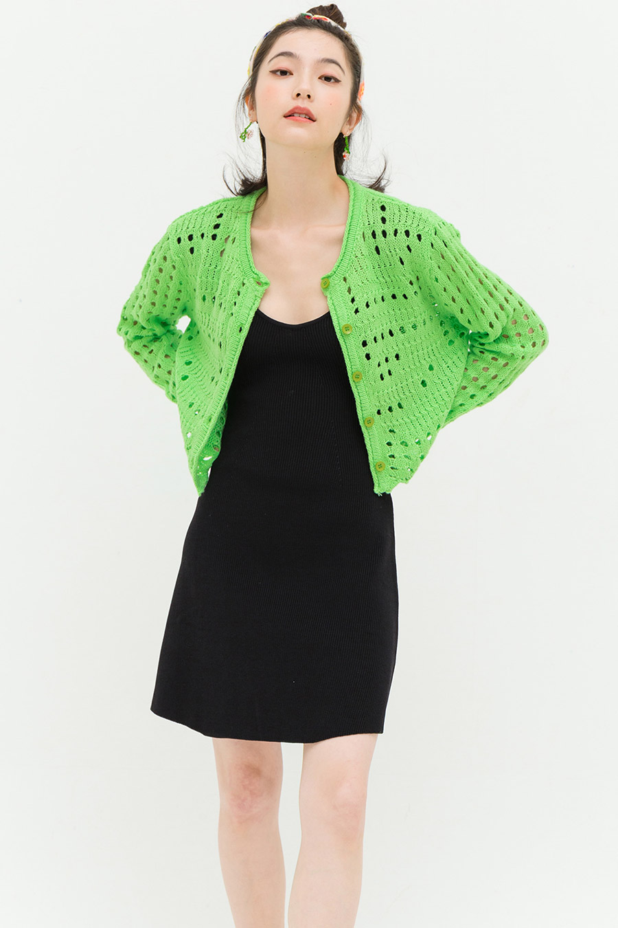 BARRETT TOP - SPRING GREEN