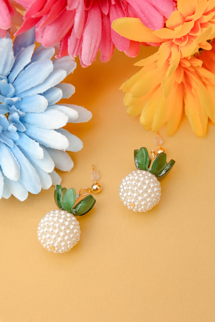 *RESTOCKED* BELLA EARRING - PINEAPPLE