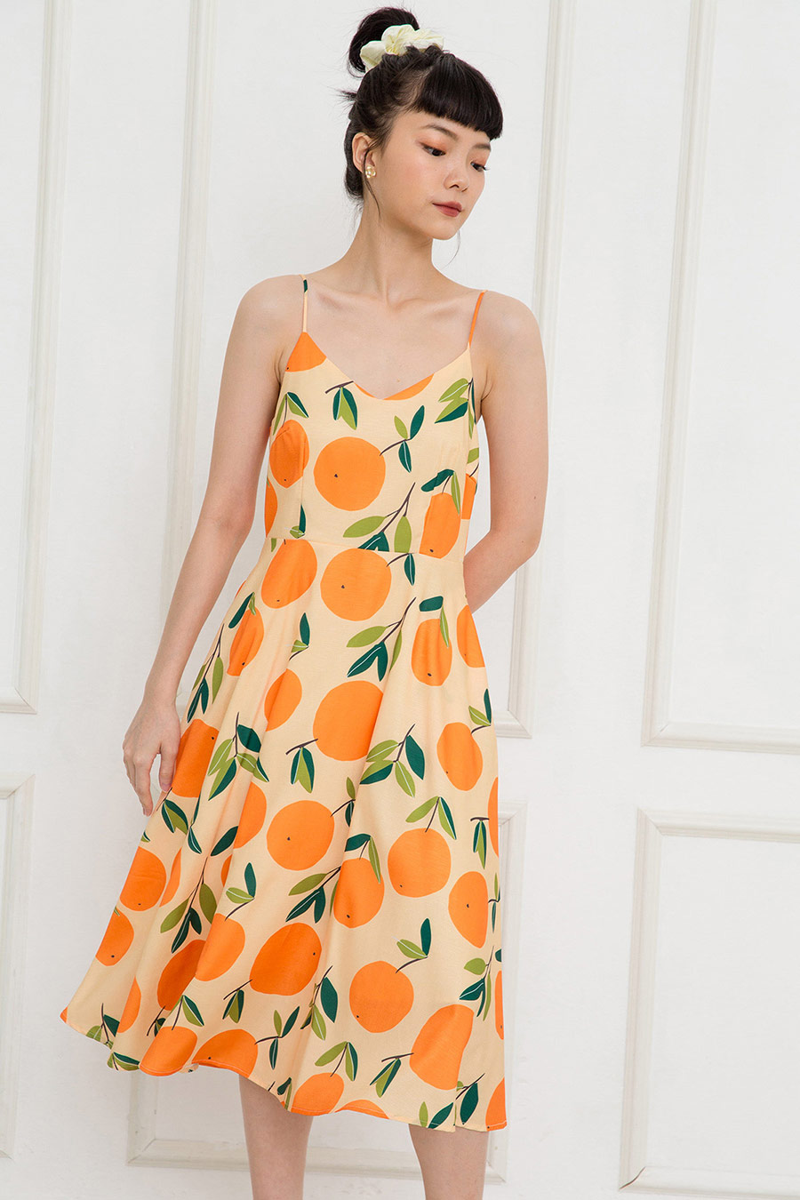 BENDT DRESS - MANDARINE [BY MODPARADE]