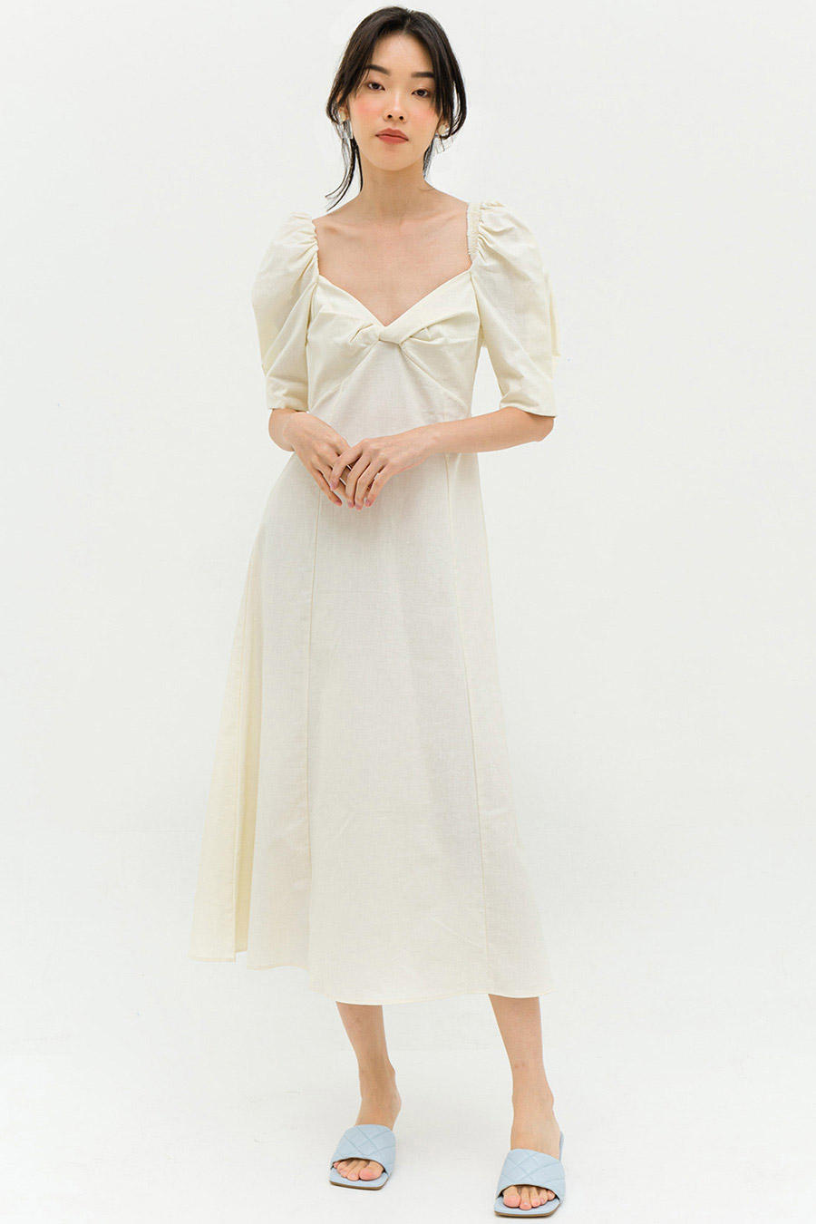 BERTINO DRESS - IVORY