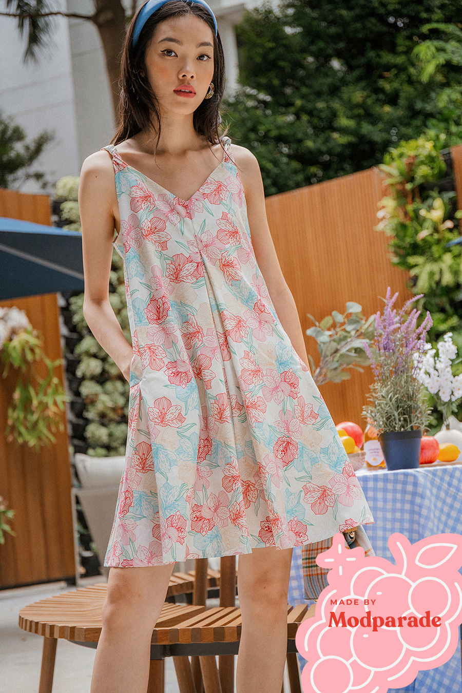 *BO* BETHANY DRESS - HYACINTH [BY MODPARADE]