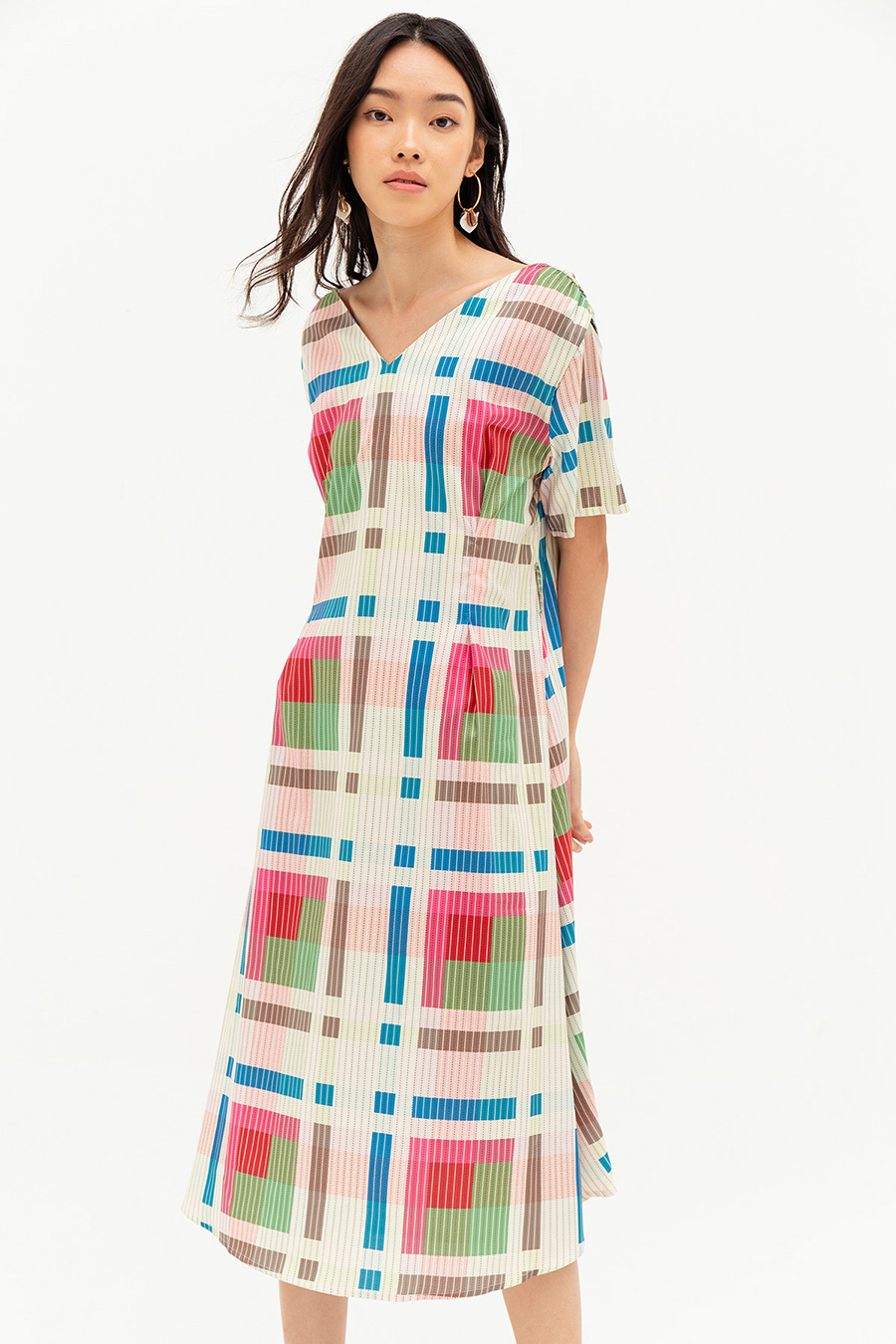 *SALE* BRIANNA DRESS - PLAID
