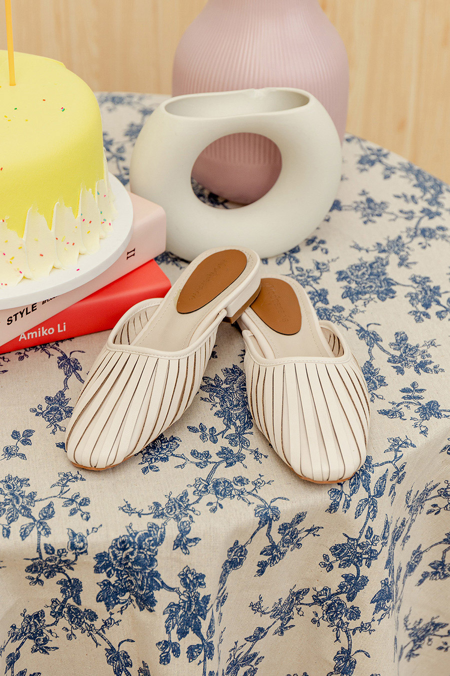 *RESTOCKED* BRIDGET SHOES - IVORY