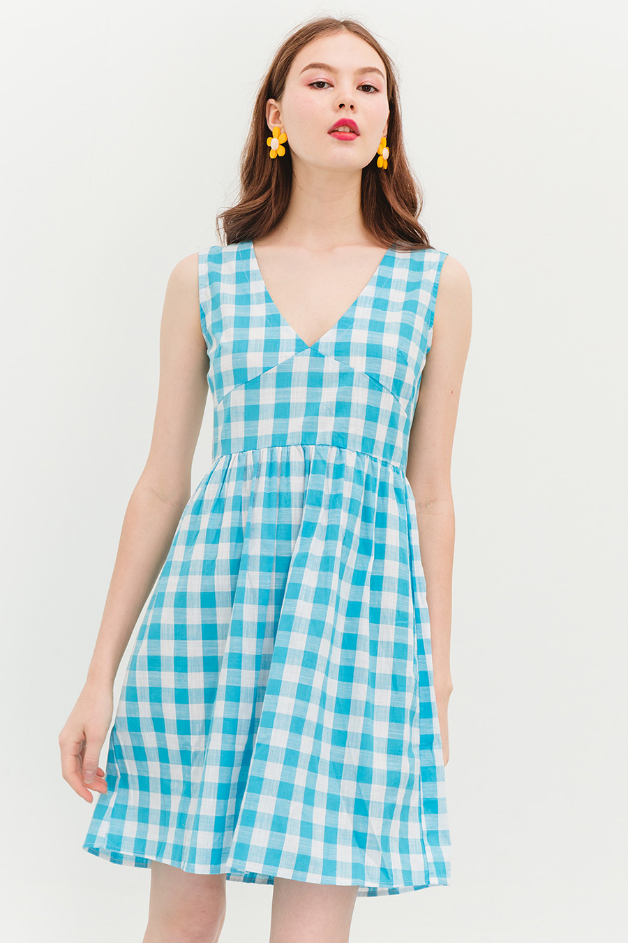 BUXTON DRESS - BLUEBERRY