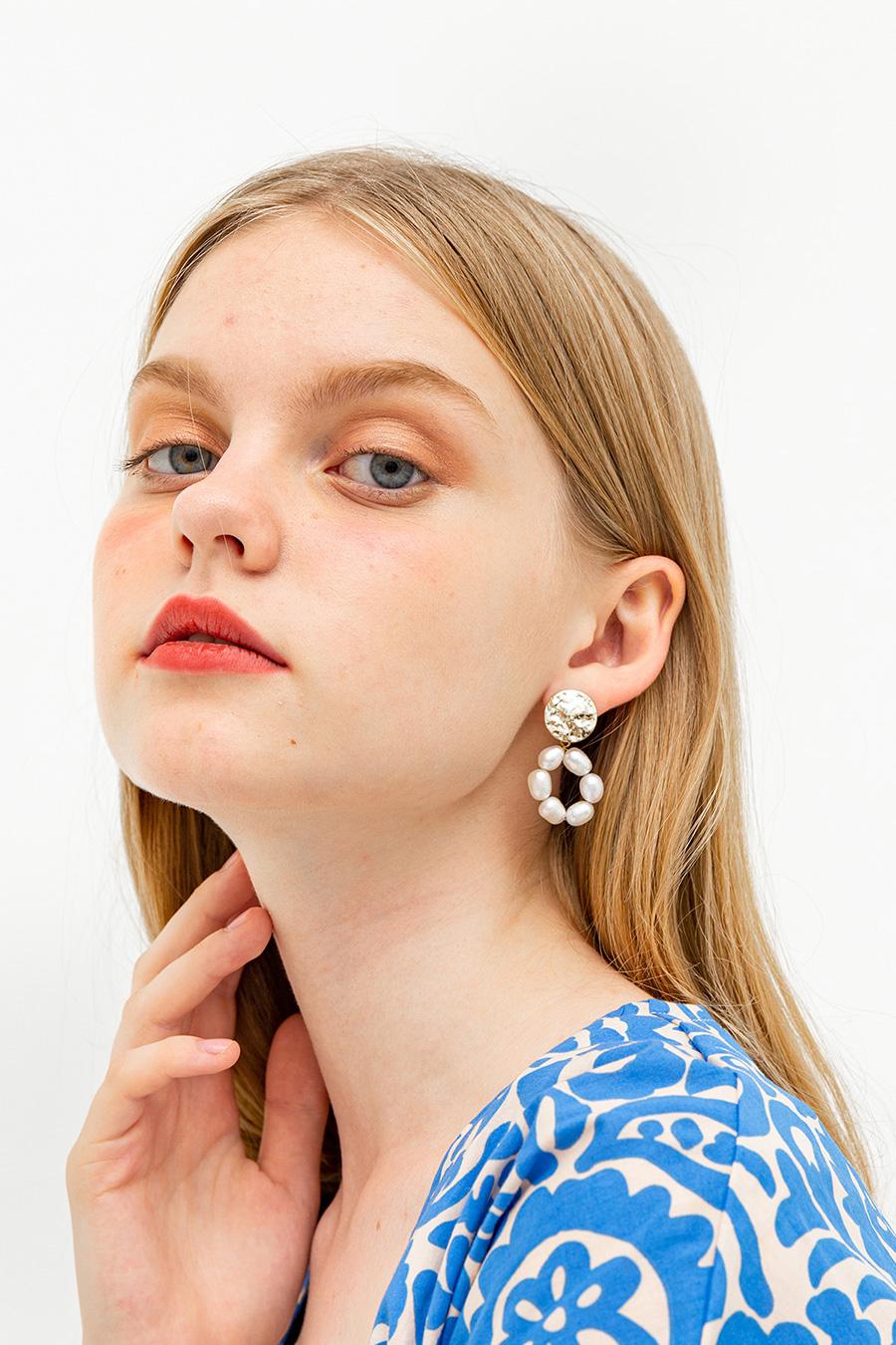 BYZAINE EARRINGS - GOLD