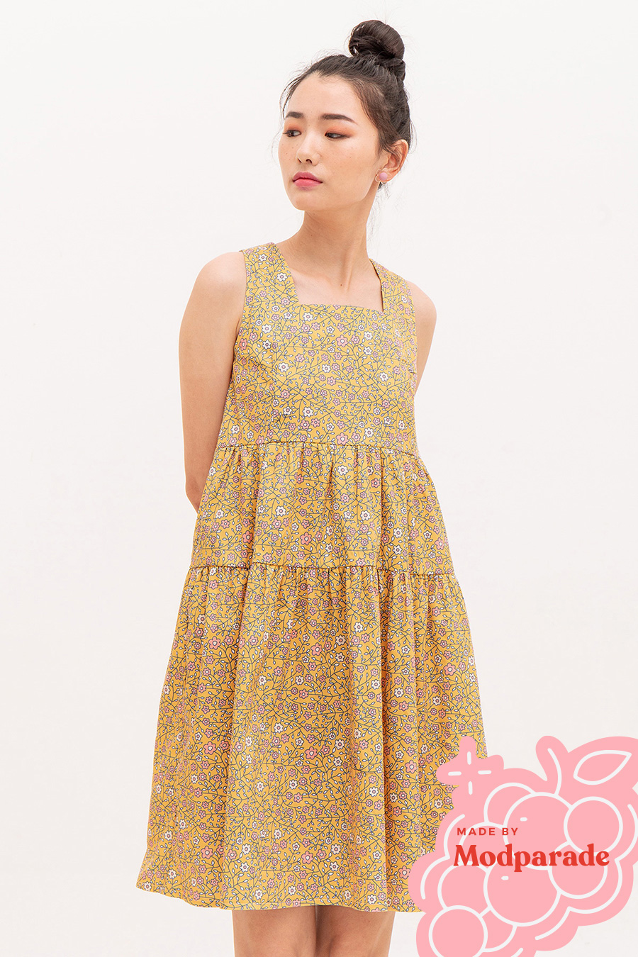 CALLADILLY DRESS - MARIGOLD [BY MODPARADE]