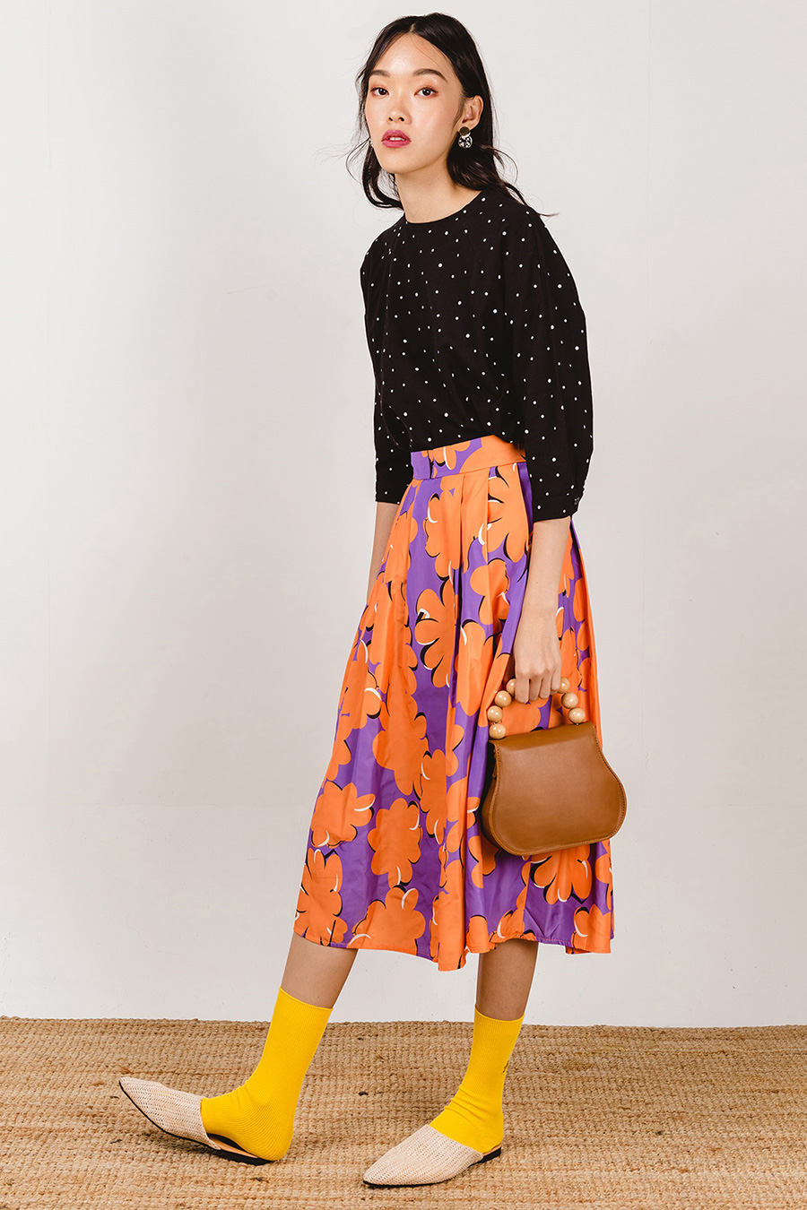 CAMILLE SKIRT - PERRY GINGER