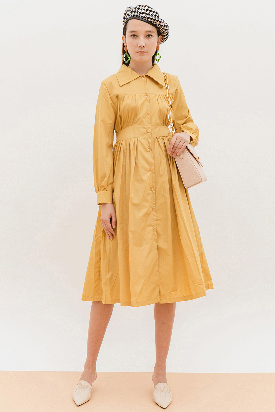 *SALE* CANTARA DRESS - FLAX