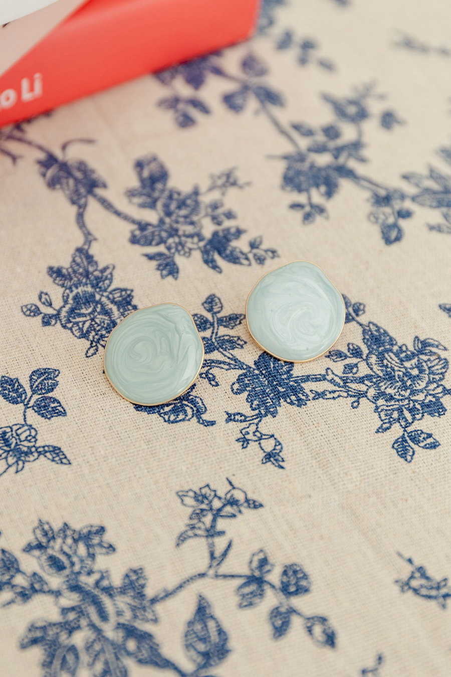 CARMEN EARRING - SEA BLUE