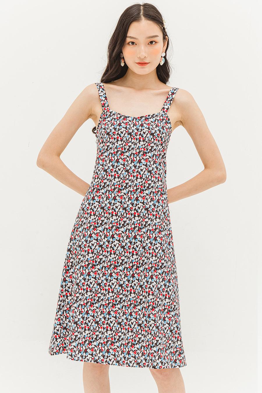 CAROLINA DRESS - FUSCHIA