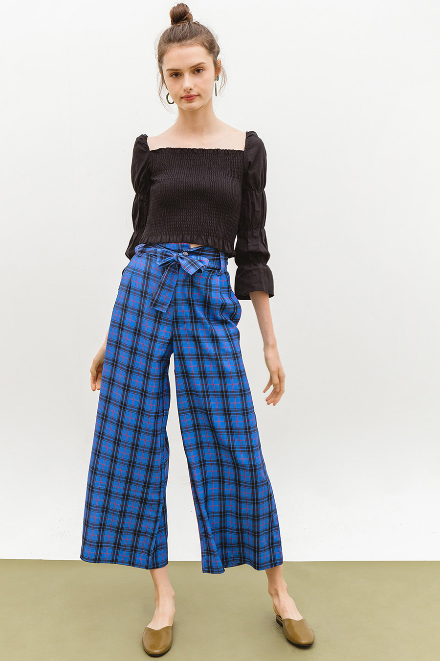 CHALETTE PANTS - MALIBU CHECKS