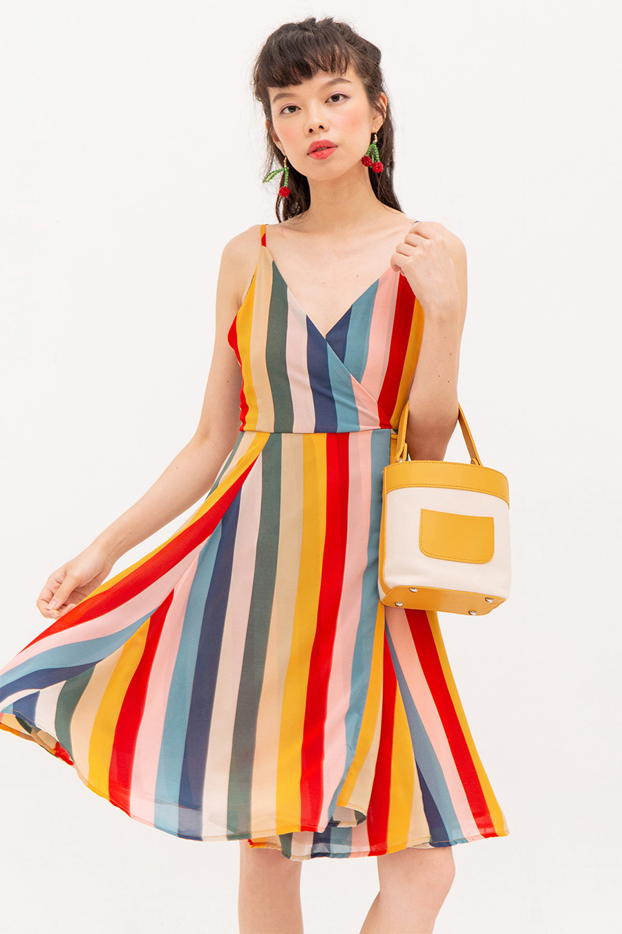 *RESTOCKED* CHARLOTTE DRESS - RAINBOW