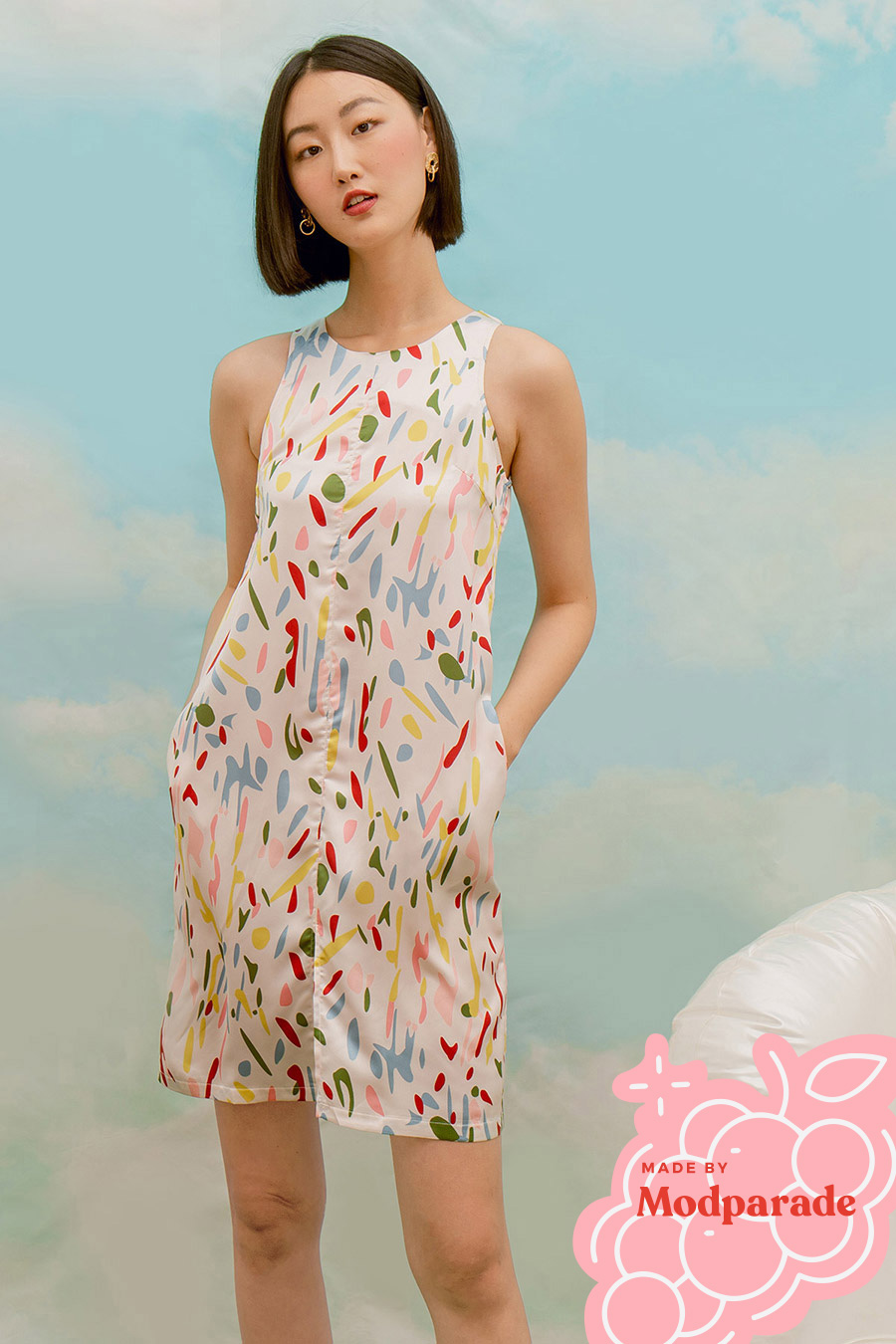 *SALE* CHLOE DRESS - BONBON [BY MODPARADE]