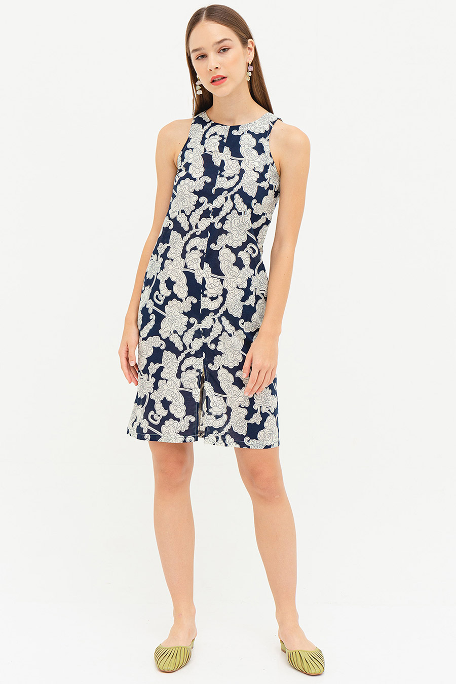*SALE* CHLOE DRESS - STRAITS FLEUR [BY MODPARADE]