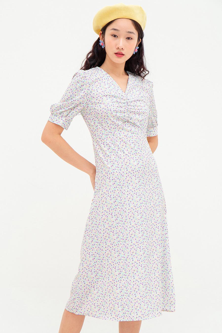 CHOQUET DRESS - HYACINTH