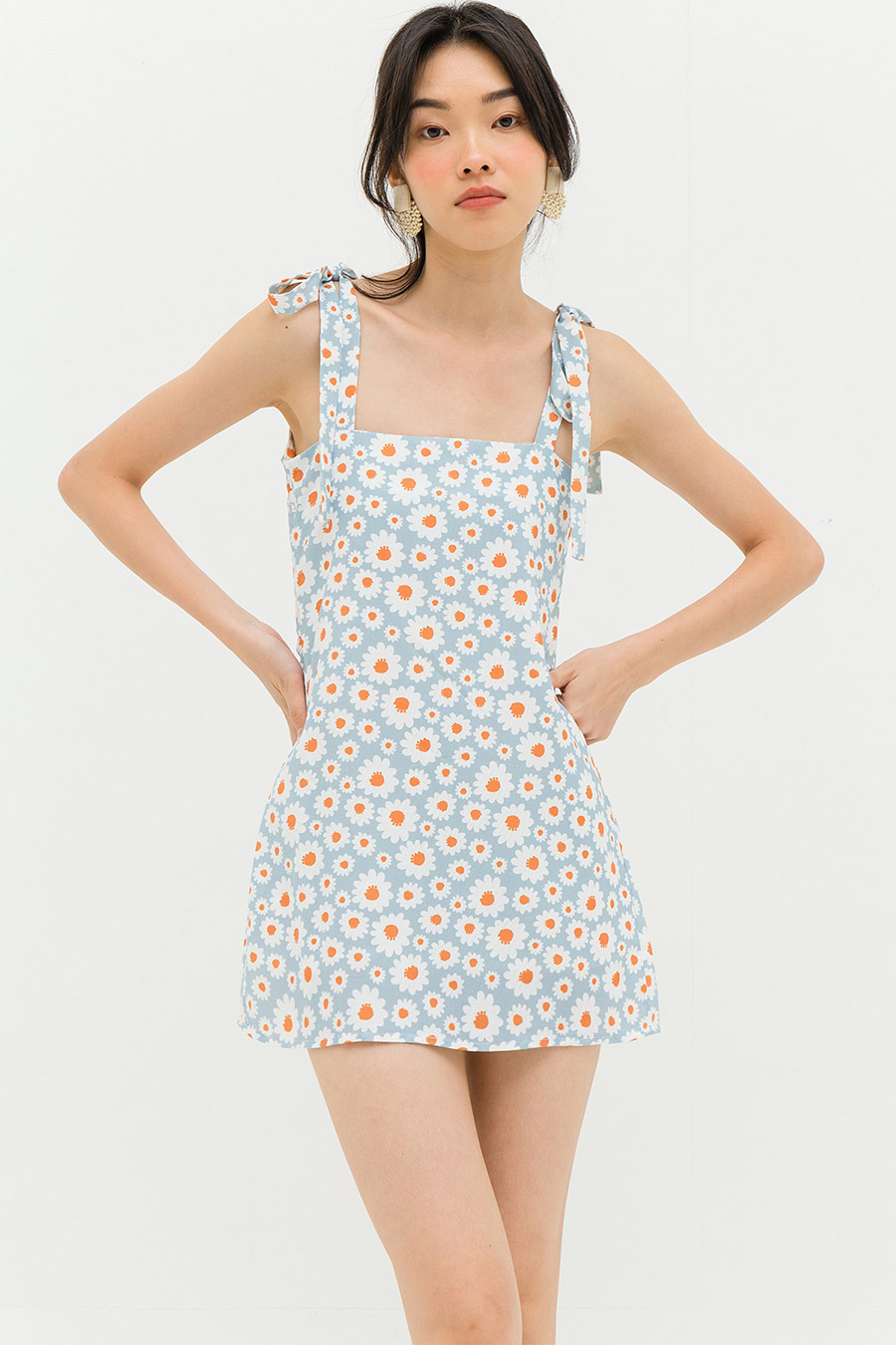 CHOQUET DRESS - SKY DAISIES