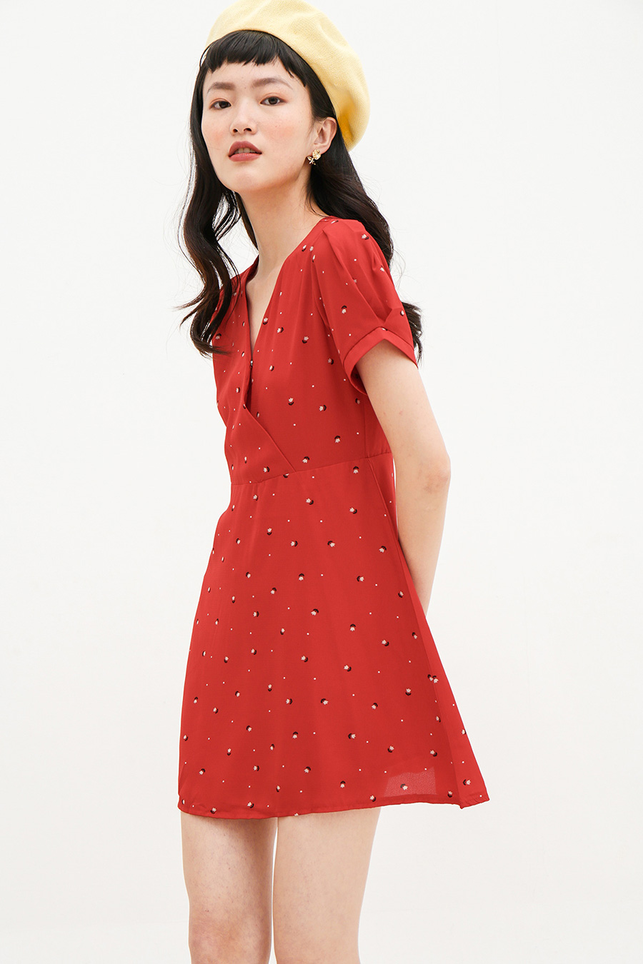*RESTOCKED* CLAIRE DRESS - TULIP