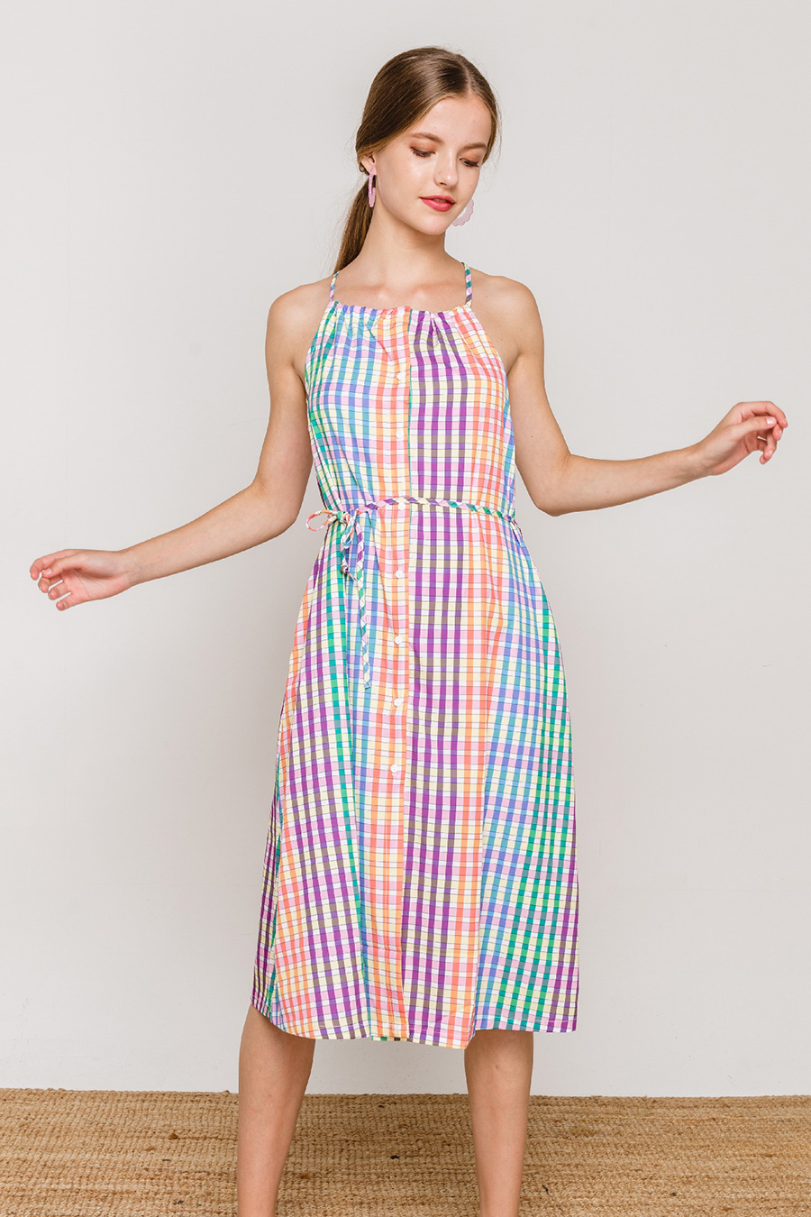 *SALE* CLARA DRESS - PSYCHEDELIC