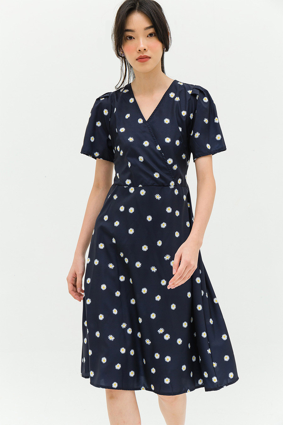 CLAUDETTE DRESS - OXFORD DAISY