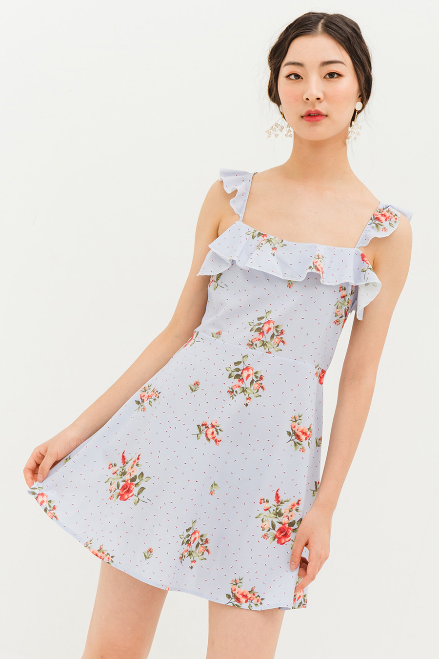 CLELIE DRESS - PETUNIA