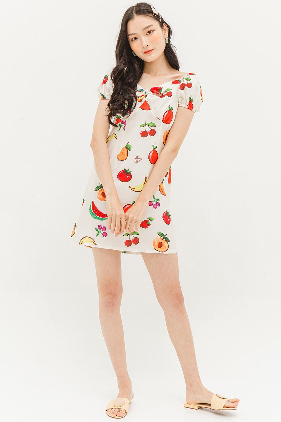 CLEO DRESS - FRUIT PARADISE