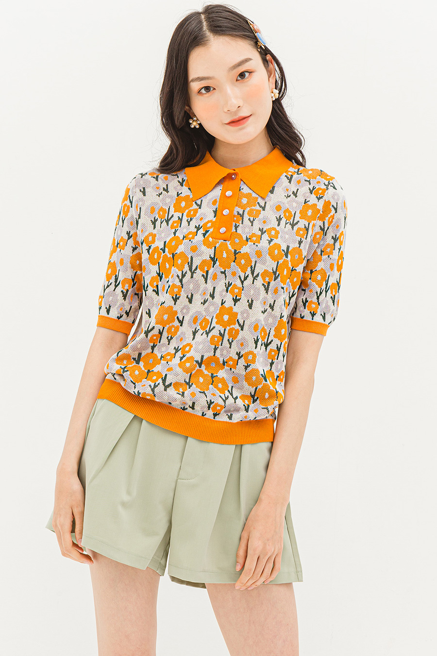 COLETTE TOP - PANSY