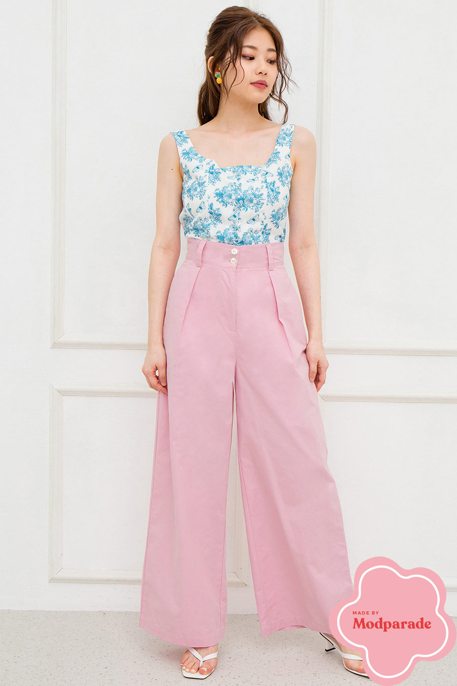 DANIELE PANTS - COTTON CANDY [BY MODPARADE]