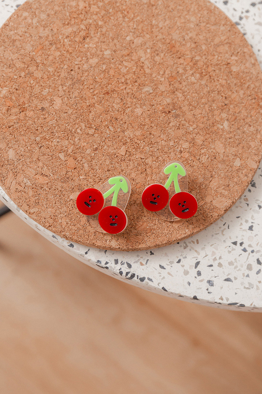 DARCIE EARRING - CHERRIES