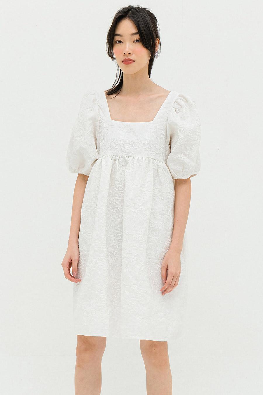 *BO* DELAFROSE DRESS - IVORY