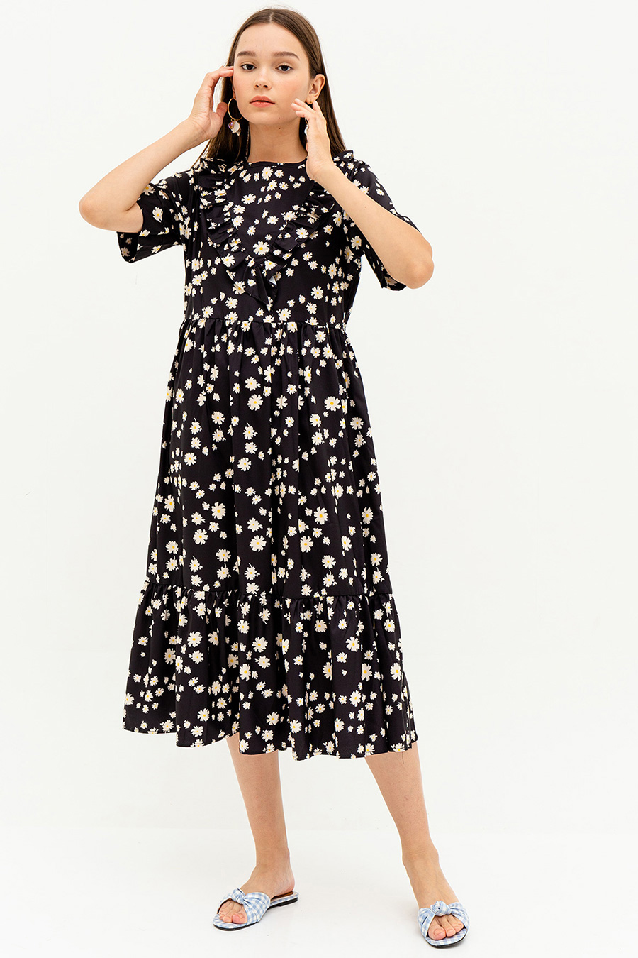 *BO* DENISE DRESS - DAISY