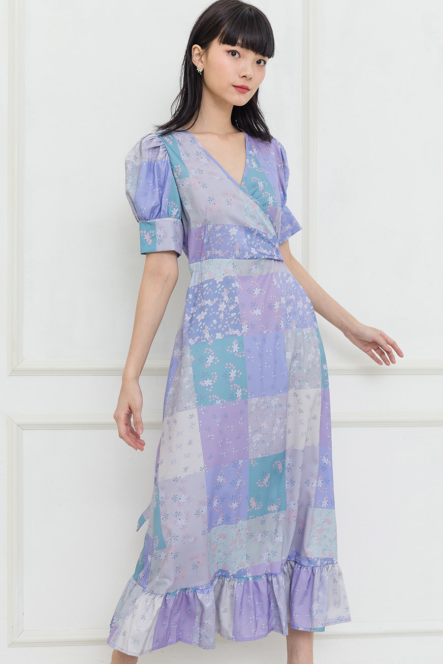 ELAM DRESS - PATCHWORK