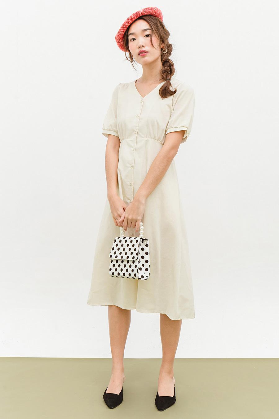 ELLERY DRESS - BISCOTTI
