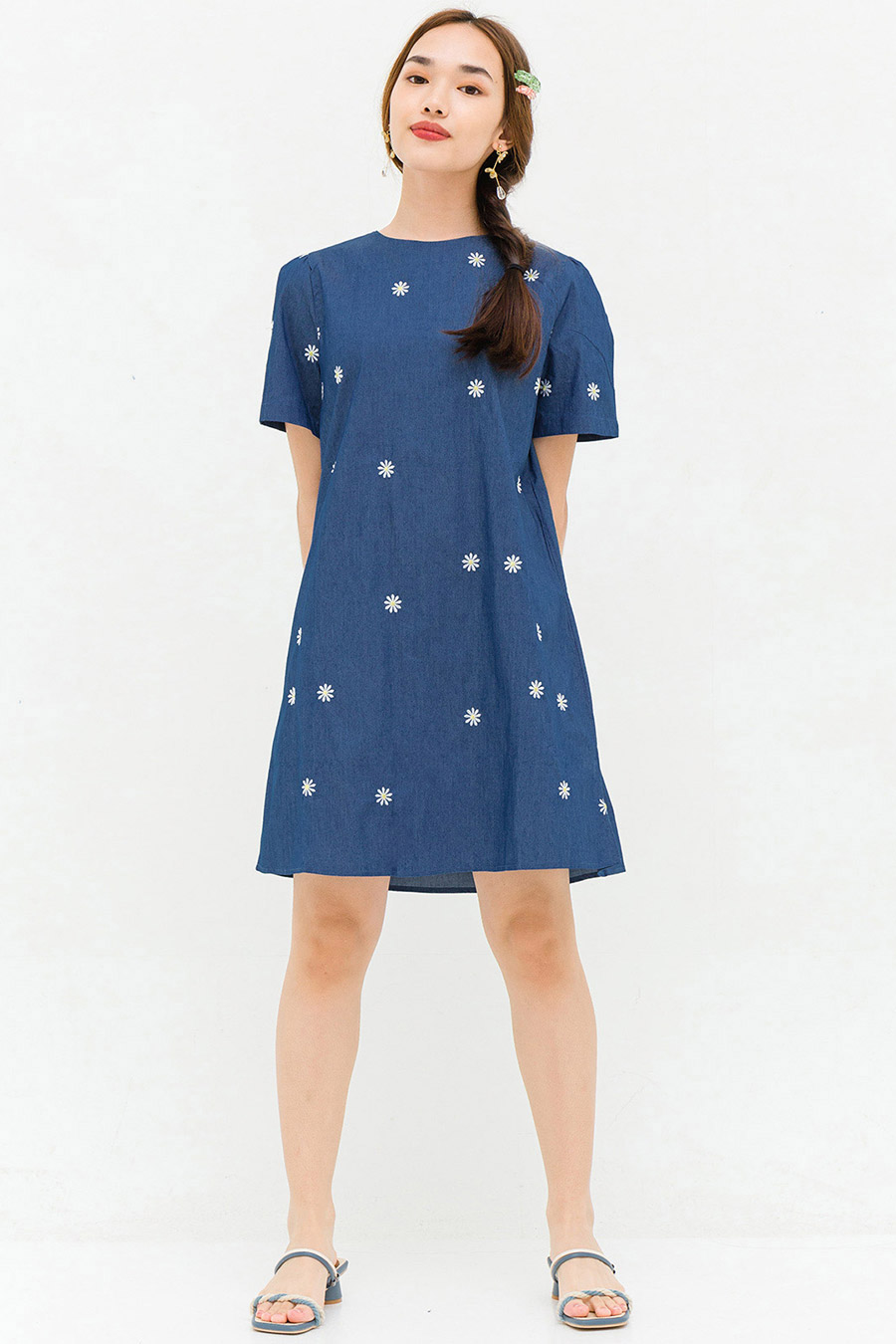 ELLIOT DRESS - PERRY FLEUR
