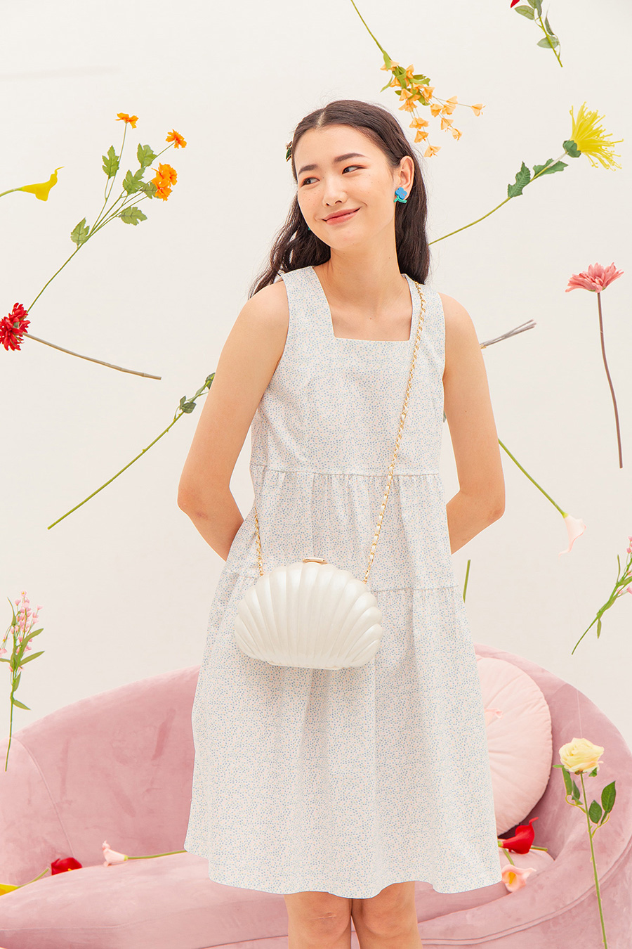 *BO* EMILE BAG - SEASHELL